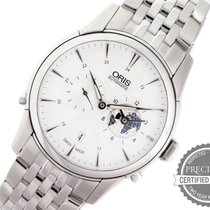 Oris Artelier Worldtimer Steel 42mm White No numerals United States of America, Pennsylvania, Willow Grove