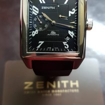 Zenith Port Royal Staal 36mm Zwart Arabisch