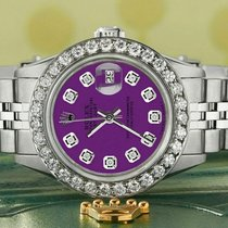 Rolex Datejust Staal 26mm Paars