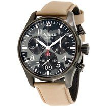 Alpina Steel 44mm Quartz AL-372MLY4FBS6 new United States of America, California, Upland