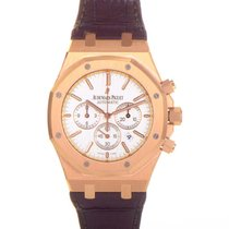 Audemars Piguet Royal Oak Chronograph Rose gold 41mm White United States of America, Pennsylvania, Southampton