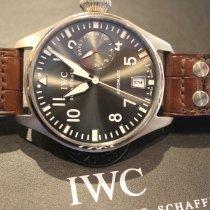 IWC Big Pilot Aur alb 46mm Gri Arabic