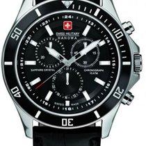 Swiss Military Hanowa Flagship neu Quarz Uhr mit Original-Box und Original-Papieren 06-4183.7.04.007