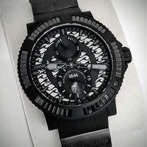 Ulysse Nardin Diver Black Sea new Automatic Watch with original box 263-92B2-3C/922