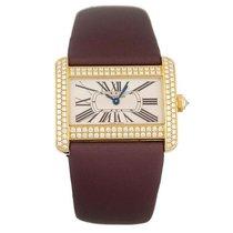 Cartier Tank Divan new 2018 Quartz Watch with original box WA301071