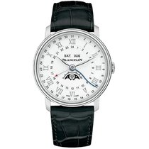 Blancpain Villeret Moonphase Steel 40mm White Roman numerals United States of America, California, Newport Beach
