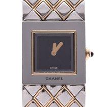 Chanel Ocel 19mm Quartz H0475 použité
