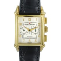 Girard Perregaux Vintage 1945 Yellow gold 29mm Champagne Arabic numerals United States of America, Pennsylvania, Southampton
