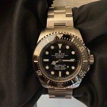 Rolex Sea-Dweller Deepsea Acero 40mm Negro Sin cifras