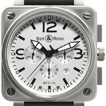 Bell & Ross BR 01-94 Chronographe Acero 46mm Blanco