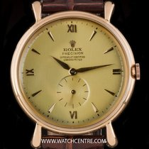 Rolex Oyster Precision Ouro rosa 37mm Ouro