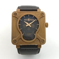 Bell & Ross SKULL Bronze Bronzo Limited 500 Pieces LC100