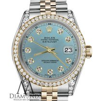 Rolex Lady-Datejust Acero y oro 26mm Azul