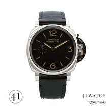 Panerai Luminor Due Acier 42mm Noir Arabes France, Paris