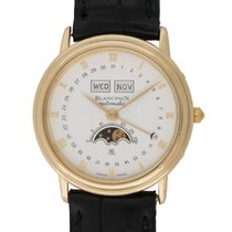 Blancpain : Complete Calendar Moonphase :  6553-1418-155 : ...
