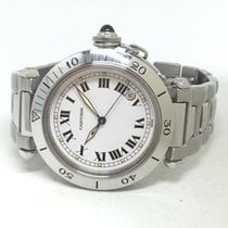 Cartier Pasha pre-owned White Steel
