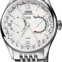 Oris Artelier Calibre 113 Steel 43mm Silver Arabic numerals