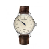Meistersinger 43mm Manual winding 2017 new Circularis Champagne