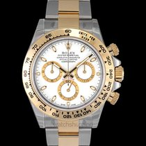 Rolex Daytona White/18k gold Ø40mm - 116503
