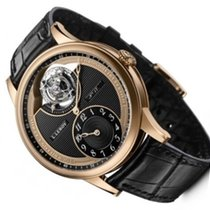 L.Leroy new Manual winding 42mm Rose gold Sapphire crystal