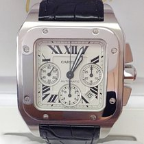 Cartier Santos 100XL Chronograph - Serviced by Cartier