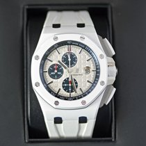 Audemars Piguet Royal Oak Offshore Chronograph Ceramic 44mm White No numerals United States of America, New York, NYC