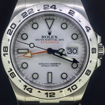 Rolex Explorer II Steel 42MM, White Dial Box&Papers/2017