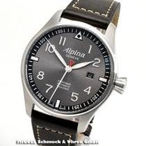 Alpina Startimer Pilot Automatic nuevo Automático Reloj con estuche original AL-525GB4S6