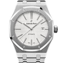 Audemars Piguet Royal Oak Selfwinding Steel 41mm Silver No numerals