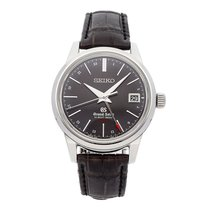 Seiko Grand Seiko Steel 39.5mm Black No numerals United States of America, Pennsylvania, Bala Cynwyd