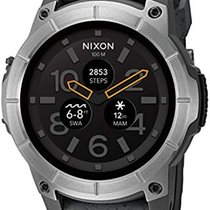 Nixon 48mm Nixon Mission Concrete Smartwatch A1167-2101 new