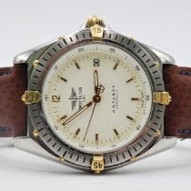 Breitling Antares Gold/Stahl 40mm Weiß