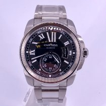 Cartier Calibre de Cartier Diver Steel 42mm Black Roman numerals United States of America, California, Beverly Hills