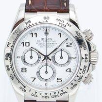 Rolex Daytona White gold 40mm White Arabic numerals United States of America, Georgia, ATLANTA