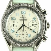 Omega Speedmaster Ladies Chronograph Steel 38mm Mother of pearl Arabic numerals United States of America, New York, Lynbrook