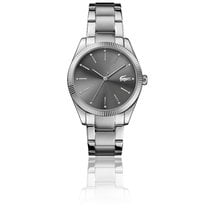 Lacoste new Quartz 36mm Steel Mineral Glass