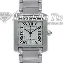 Cartier 2302 Steel Tank Française 28mm pre-owned United States of America, Florida, 33431