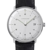 Junghans Steel 38mm Quartz 041/446 new