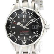 Omega Seamaster Diver 300 M Steel 28mm Black