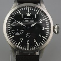 Azimuth Steel 47mm Manual winding Jagdbomber pre-owned