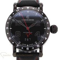 Chronoswiss Timemaster Steel 41mm Black Arabic numerals