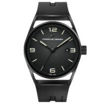 保时捷 1919 Datetimer Eternity Black Edition Black & Rubber