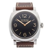 Panerai Special Editions Steel 47mm Black United Kingdom, Bishop's Stortford