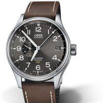Oris Big Crown ProPilot GMT 01 748 7710 4063-07 5 22 05FC Oris SMALL SECOND GMT Pelle nouveau