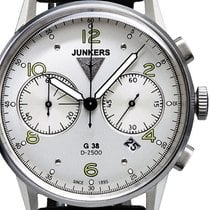 Junkers Steel 42mm Quartz 6984-4 new