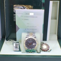 Rolex Datejust Turnograph 116263 18k YG & Stainless  Box...