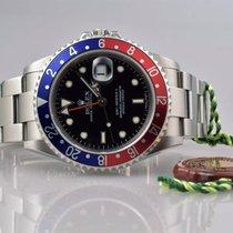 Rolex GMT MASTER II 16710 Pepsi UNPOLIERT Z-Serie STICK DIAL - EU