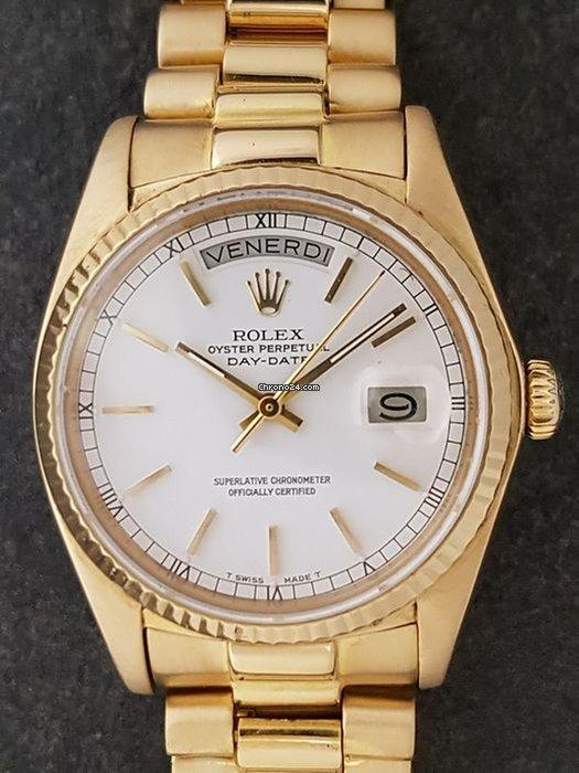 nuovo concetto 29ff6 fffff Rolex Day-Date / President Rolex Datejust Day-Date oro 18 carati -  automatico