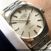 Rolex Serviced Rolex Air King Automatic white dial