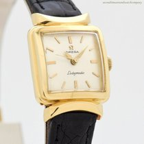 Omega De Ville Ladymatic Yellow gold 20mm Silver No numerals United States of America, California, Beverly Hills